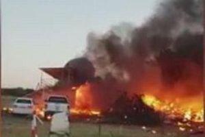 Rơi máy bay ở Bulgaria, cả hành khách và phi công thiệt mạng