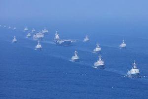 Hải quân Trung Quốc tổ chức duyệt binh lớn chưa từng thấy trên biển