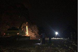 Quảng Ninh: Chưa tìm thấy công nhân mất tích trong vụ sập mỏ đá