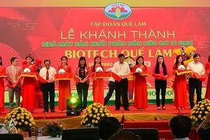 Khánh thành nhà máy phân bón vi sinh lớn nhất miền Bắc tại Vĩnh Phúc