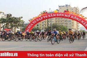 400 tay đua tranh tài tại Giải đua xe đạp TP Sầm Sơn mở rộng năm 2019