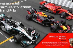 Công bố giá vé xem đua xe F1 tại Hà Nội, hạng phổ thông nhiều người mua được