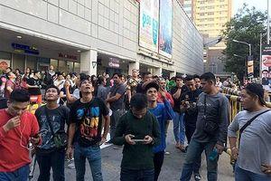 Nhiều tòa nhà ở Thủ đô Manila, Philippines rung lắc mạnh vì động đất