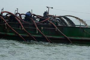 Trà Vinh: Siết quản lý hoạt động khai thác cát sông