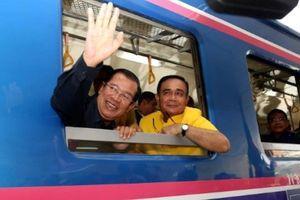 Thủ tướng Hun Sen khánh thành tuyến đường sắt Campuchia - Thái Lan
