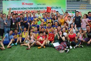 Giải bóng đá NTNN/Dân Việt: 'Mái nhà' của anh em báo chí!