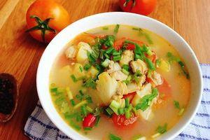 Món ngon mỗi ngày: Canh ngao nấu dứa ngon ngất ngây cho ngày nắng nóng