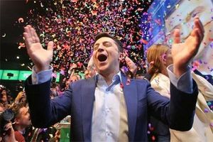 Bầu cử tổng thống Ukraine: Nam diễn viên hài giành lợi thế lớn