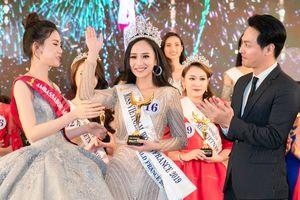 Chân dài 1,72m giành vương miện 'Hoa hậu Thế giới người Việt' tại Pháp