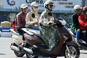 Dân Hà Nội chi tiền triệu sắm đồ 'ninja đường phố' chống nắng