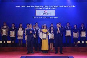 Novaon đạt Top 500 doanh nghiệp tăng trưởng nhanh nhất Việt Nam