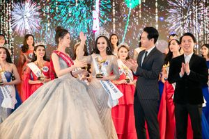 Trần Vũ Hương Trà đăng quang 'Hoa hậu Thế giới Người Việt tại Pháp 2019'