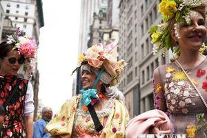 Người dân New York rực rỡ trong buổi diễu hành Lễ Phục sinh
