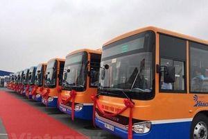 Hà Nội có thêm tuyến buýt chất lượng cao Hà Đông-sân bay Nội Bài