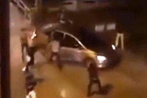 Sự thật về clip nhóm côn đồ bắn nhau tại BigC Hải Phòng