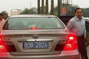 Vụ Phó bí thư thường trực Tỉnh ủy Ninh Bình đi xe 2 biển xanh: Xe được cấp lại biển mới