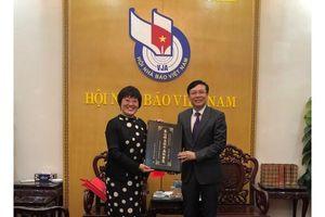 Hội Nhà báo Việt Nam - Hội Nhà báo toàn Trung Quốc: Nâng tầm mối quan hệ