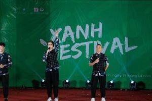 O-plus khiến hàng nghìn học sinh vỡ òa cảm xúc với 'Bye Bye' tại Xanh Festival 2019
