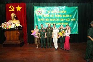 Những người giúp nước bạn Campuchia hồi sinh