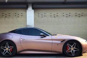 Đại gia Hà Thành 'thay áo mới' cho Ferrari California T mới tậu