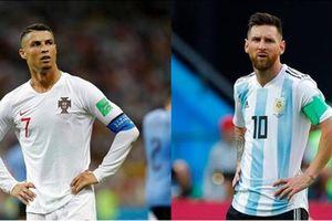 Thống kê các giải thưởng danh giá của 2 ngôi sao nổi tiếng làng túc cầu thế giới Messi và Ronaldo
