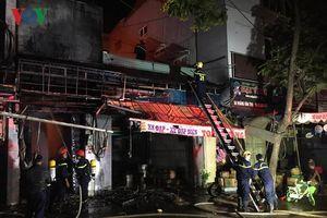 Cháy cửa hàng trong đêm, hơn 100 chiếc xe đạp bị thiêu rụi