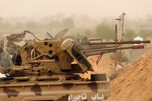 Chiến sự Libya: Quân chính phủ đẩy lui được lực lượng của Tướng Haftar
