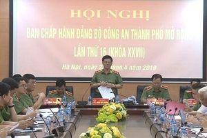 Công an Hà Nội: Đoàn kết, quyết tâm thực hiện thắng lợi nhiệm vụ công tác Đảng