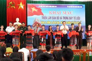 Triển lãm 'Hoàng Sa, Trường Sa của Việt Nam - Những bằng chứng lịch sử và pháp lý' tại Quảng Nam