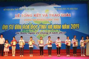 Lan tỏa từ cuộc thi Đại sứ Văn hóa đọc ở Hà Nam