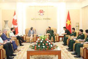Đại tướng Ngô Xuân Lịch: Việt Nam ủng hộ Canada tham gia ADMM+