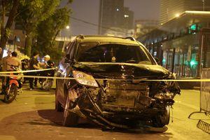 Tạm giữ 'tài xế điên' lái ô tô đâm liên hoàn khiến nữ lao công chết thảm