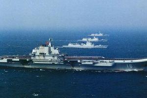 Trung Quốc lộ cụm tác chiến tàu Liêu Ninh trước lễ duyệt binh hải quân