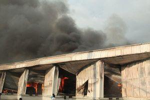 Cháy dữ dội tại công ty nước ngoài ở Bình Dương
