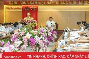 Bí thư Tỉnh ủy Hà Tĩnh: Sáp nhập đơn vị hành chính cấp xã làm ở đâu phải chắc ở đó