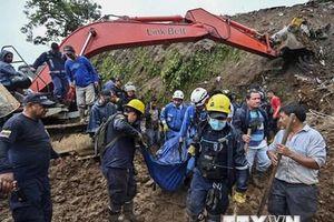 Ít nhất gần 30 người đã thiệt mạng do lở đất ở Colombia
