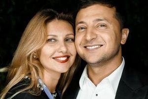 CLIP: Tân Tổng thống Ukraine cùng vợ ăn mừng chiến thắng bầu cử