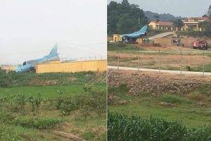 Máy bay quân sự Su-22 gặp nạn