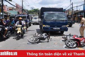 Tháng 4-2019, toàn tỉnh xảy ra 16 vụ tai nạn giao thông làm 23 người chết, 9 người bị thương