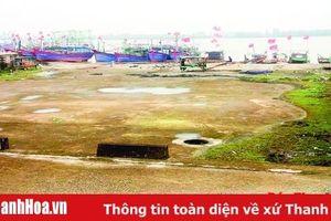 Lãng phí vốn đầu tư công trình sửa chữa tàu thuyền ở phường Quảng Cư