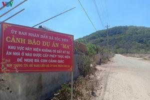 Chính quyền treo biển cảnh báo người dân về dự án bất động sản 'ma'