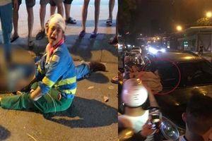 Sau khi tông chết nữ công nhân môi trường, xe 'điên' nổ lốp vẫn phóng vun vút tháo chạy