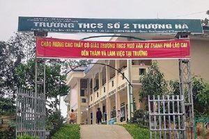 Thầy giáo ở Lào Cai thừa nhận có quan hệ tình dục với nữ sinh lớp 8
