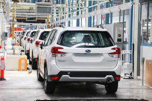 Subaru xây xong nhà máy tại Thái Lan, giá xe sắp giảm mạnh tại VN