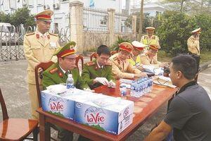 Báo động tình trạng lái xe sử dụng ma túy