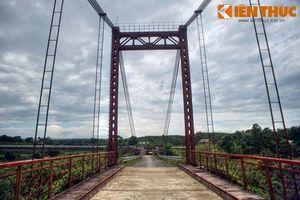 Khám phá cây cầu treo huyền thoại trên đường Trường Sơn