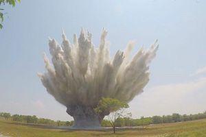 Hủy nổ quả bom nặng 340 kg phát hiện ở rừng tràm