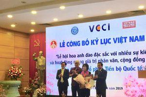 Lễ hội hoa Anh đào Nhật Bản - Hà Nội xác lập kỷ lục Việt Nam