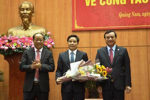 Chuẩn y chức danh Phó Bí thư Quảng Nam đối với ông Lê Văn Dũng