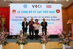 AIC Group nhận bằng xác lập kỷ lục Việt Nam cho Lễ hội hoa anh đào